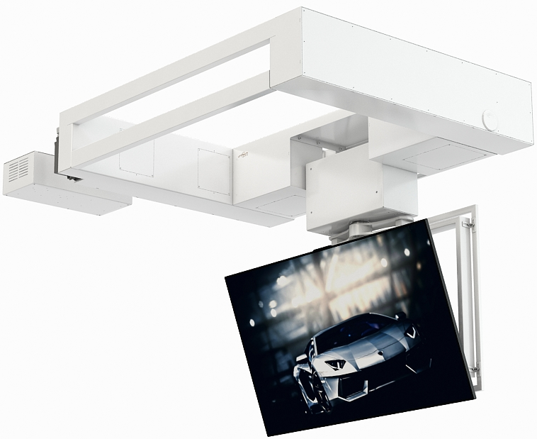 Flat Panel Ceiling Lift Series FPLC V2 SLIM +R +TILT