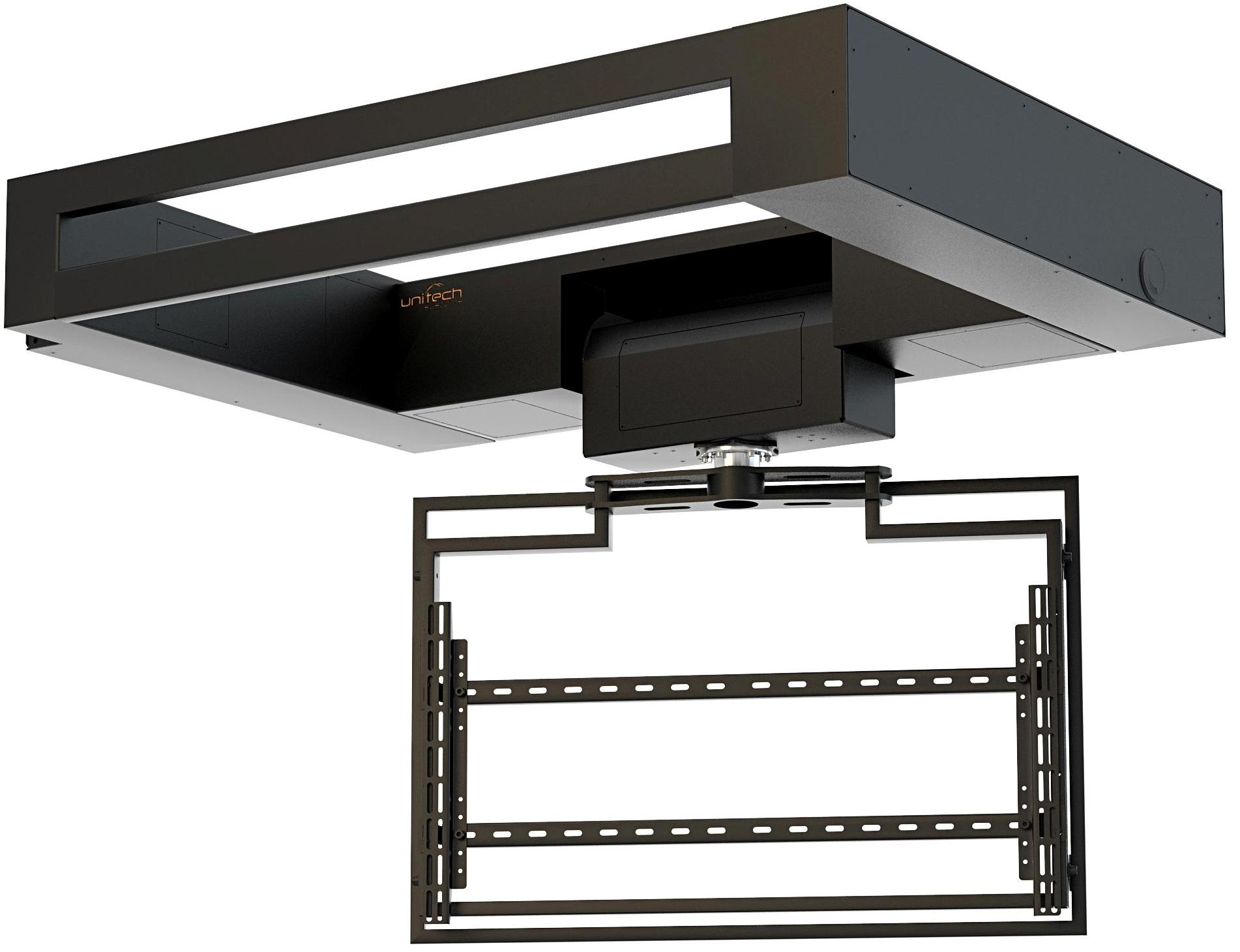 Flat Panel Ceiling Lift with Rotation FPLCV2SLIM30-40+R